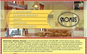 homepage sito momus